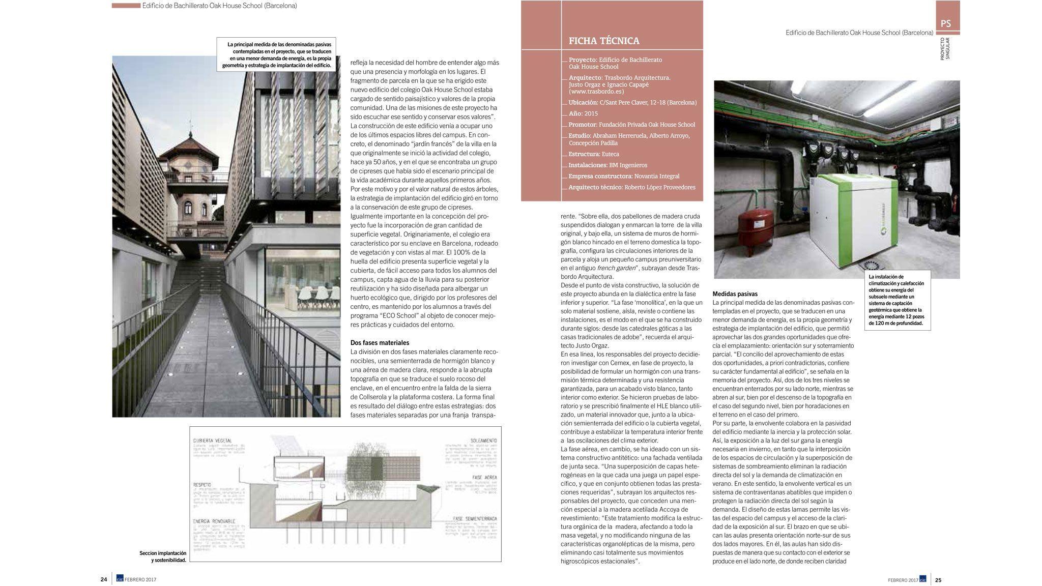 Trasbordo proyecto singular en la revista cic - Proyecto singular ...